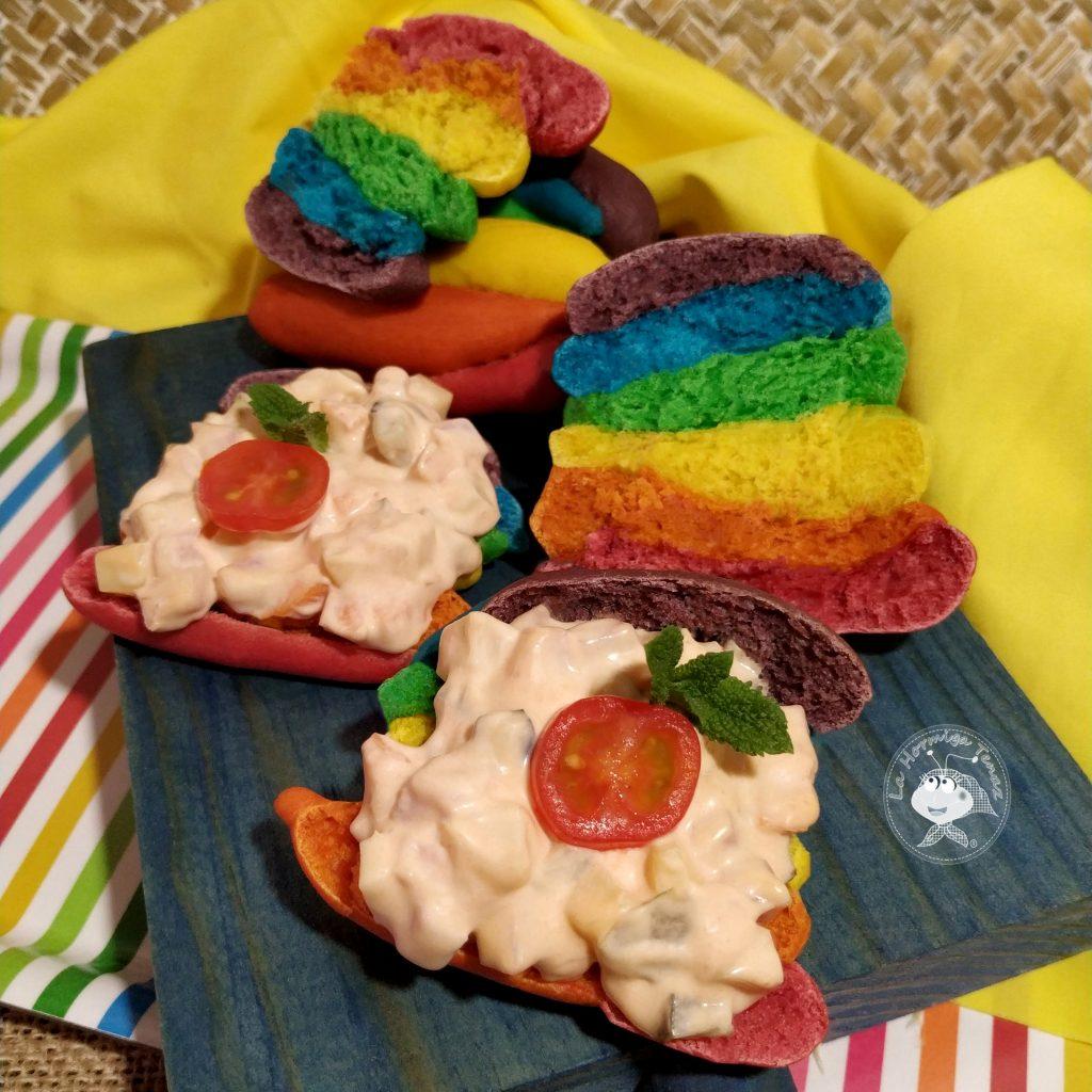 panecillo arcoiris