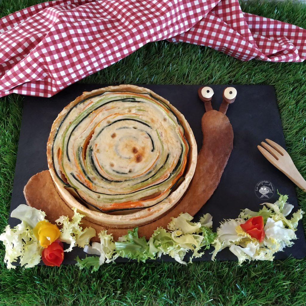 caracol de verdura